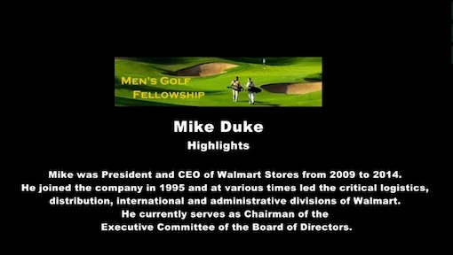 mike duke - resources