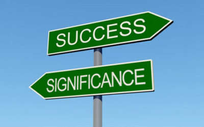 Success To Significance