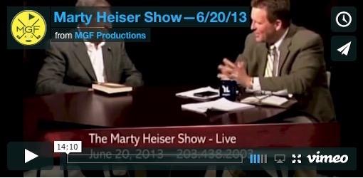 Marty Heiser 6/20/13 Video