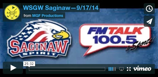 WSGW 9/17/14 Video