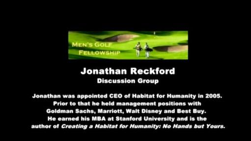 Jonathan Reckford - resources