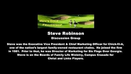 Steve Robinson - resources